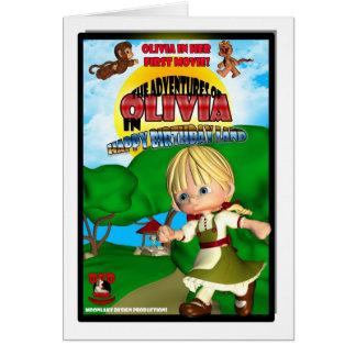 Kasten-Parodie der Olivia-Geburtstags-Karte DVD Karte