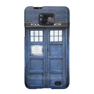 Kasten Polizei-Telefonzelle-Samsung-Galaxie-S Galaxy S2 Hüllen