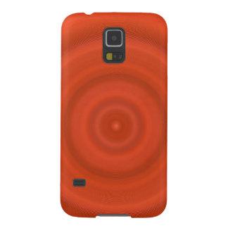 Kasten Samsung-Galaxie-S5 - orange konzentrische Samsung S5 Cover