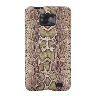Kasten Schlangen-Haut-Samsung-Galaxie-S Samsung Galaxy SII Cover