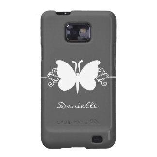 Kasten Schmetterlings-Strudel-Samsung-Galaxie-S2 Galaxy SII Hülle