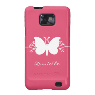 Kasten Schmetterlings-Strudel-Samsung-Galaxie-S2 Galaxy SII Hüllen