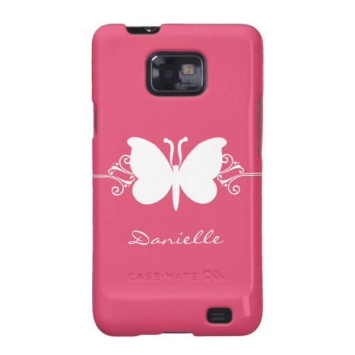Kasten Schmetterlings-Strudel-Samsung-Galaxie-S2,  Galaxy SII Hüllen