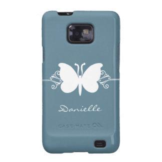 Kasten Schmetterlings-Strudel-Samsung-Galaxie-S2 Samsung Galaxy S2 Hülle