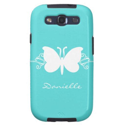 Kasten Schmetterlings-Strudel-Samsung-Galaxie-S3,  Schutzhülle Fürs Samsung Galaxy S3