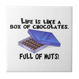Kasten Schokoladen Kleine Quadratische Fliese