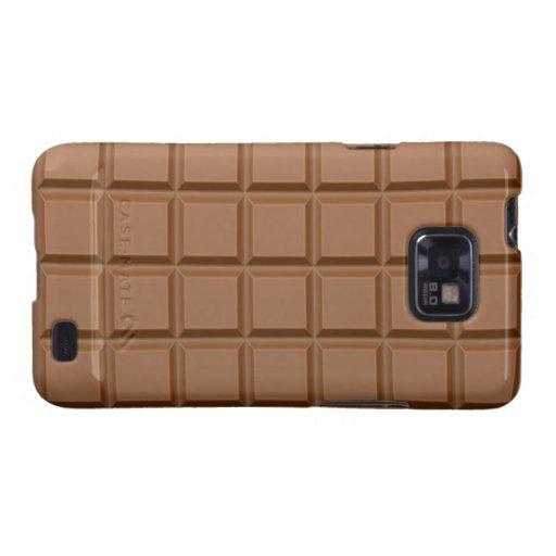 Kasten Schokoladen-Samsung-Galaxie-S Samsung Galaxy SII Hüllen