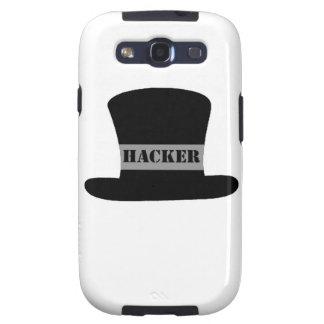 Kasten schwarzer Hut-Hacker-Samsung-Galaxie-S Schutzhülle Fürs Galaxy S3