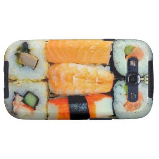 Kasten Sushi-Servierplatten-Samsung-Galaxie-S Hülle Fürs Samsung Galaxy S3