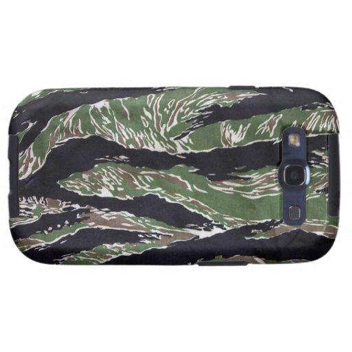 Kasten Tiger-Streifen-Camouflage-Samsungs-Galaxie- Etui Fürs Galaxy SIII