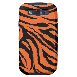Kasten Tiger-Streifen-Samsung-Galaxie-S Samsung Galaxy SIII Hüllen