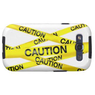 Kasten Vorsicht-Band-Samsung-Galaxie-S Galaxy S3 Schutzhülle