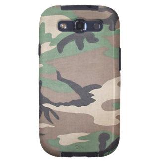 Kasten WaldCamouflage-Samsungs-Galaxie-S Galaxy S3 Hüllen
