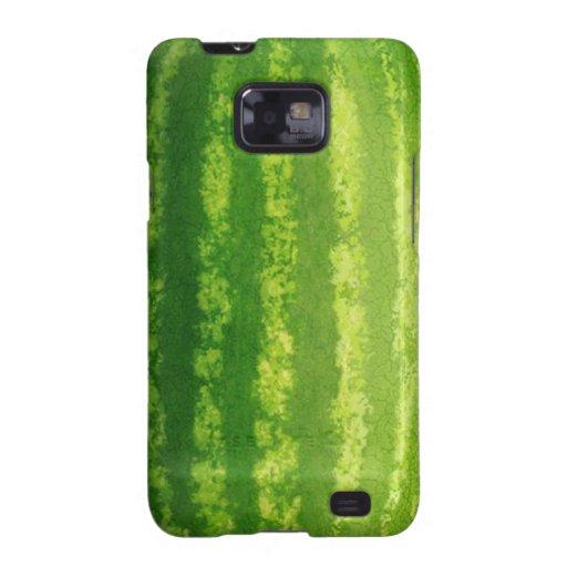Kasten Wassermelone-Haut-Samsung-Galaxie-S Galaxy SII Cover