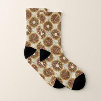 Kasten Weihnachtsschaumgummiring-Musik besprüht Socken