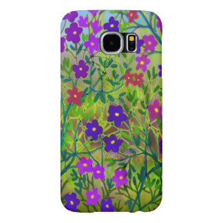 Kasten Wildblumen-Samsungs-Galaxie-S6 des