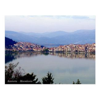 Kastoria - Mazedonien Postkarte