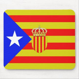 Katalonien-Flagge Mousepad
