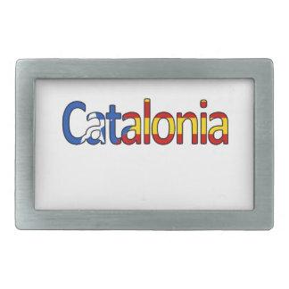 Katalonien Rechteckige Gürtelschnalle