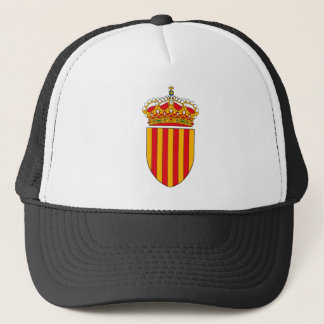 Katalonien-Wappen Hut Truckerkappe