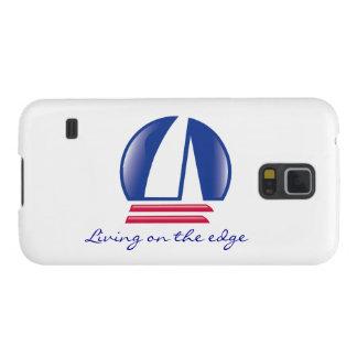 Katamaran Sailing_Blue Moon_Living auf dem Rand 2 Galaxy S5 Hülle
