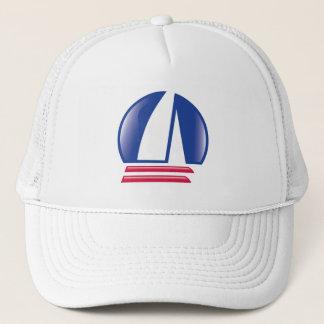 Katamaran Sailing_Pontoon Racing_Blue Mond Truckerkappe