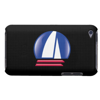 Katamaran Sailing_Pontoon Racing_Blue Moon_black Case-Mate iPod Touch Case