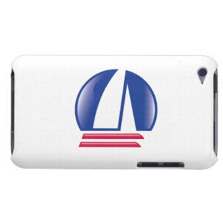 Katamaran Sailing_Pontoon Racing_Blue Moon_white iPod Touch Case-Mate Hülle