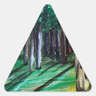 Kateri Tekakwitha Dreieckiger Aufkleber