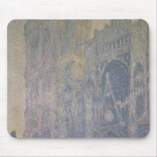 Kathedrale Claude Monets | Rouen, Harmonie im Weiß Mousepad
