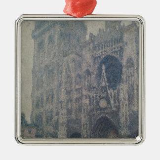 Kathedrale Claude Monets | Rouen, nach Westen Silbernes Ornament