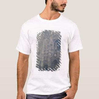 Kathedrale Claude Monets   Rouen, nach Westen T-Shirt