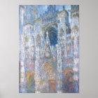 Kathedrale Claude Monets | Rouen Poster