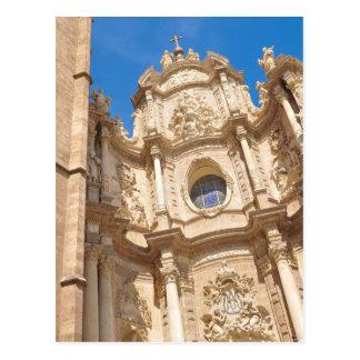 Kathedrale in Valencia, Spanien Postkarte