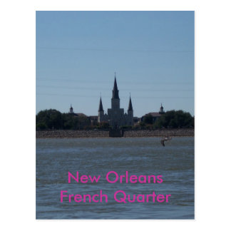 Kathedrale New Orleans, Louisiana St. Louis Postkarte