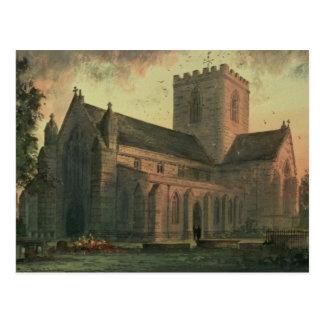 Kathedrale St. Asaphs, Ansicht vom Südwesten Postkarte