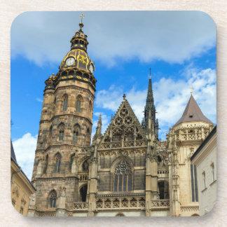 Kathedrale St. Elisabeth in Kosice, Slowakei Getränkeuntersetzer
