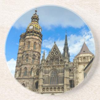 Kathedrale St. Elisabeth in Kosice, Slowakei Sandstein Untersetzer