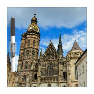 Kathedrale St. Elisabeth in Kosice, Slowakei Trockenlöschtafel