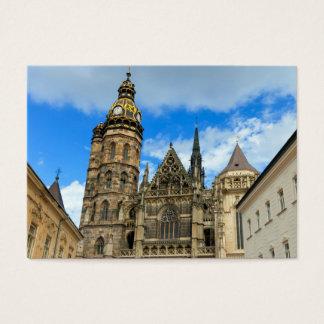 Kathedrale St. Elisabeth in Kosice, Slowakei Visitenkarte