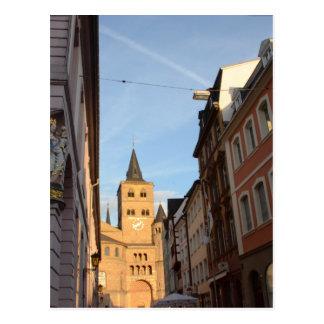Kathedralen-AnsichtTrier Postkarte
