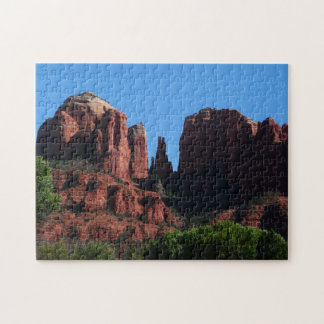 Kathedralen-Felsen in Sedona Arizona Puzzle