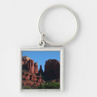 Kathedralen-Felsen in Sedona Arizona Schlüsselanhänger