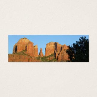 Kathedralen-Felsen MiniCard Mini Visitenkarte