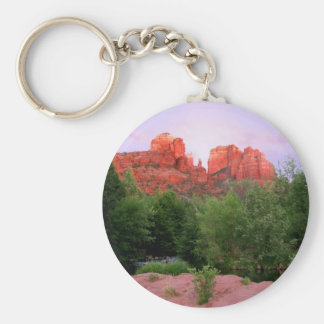Kathedralen-Felsen Sedona, Arizona Schlüsselanhänger