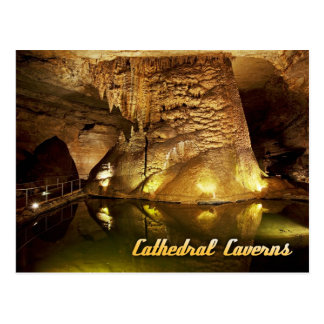 Kathedralen-Höhlen-Staats-Park, Alabama Postkarte