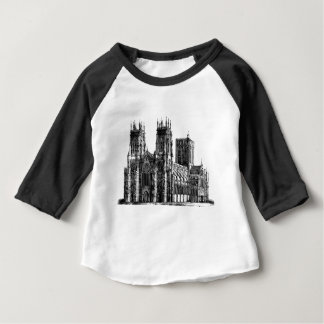 Kathedralen-Illustration Baby T-shirt