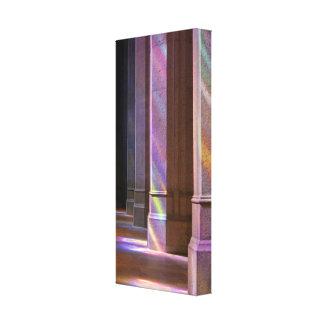 Kathedralen-Licht Leinwanddruck