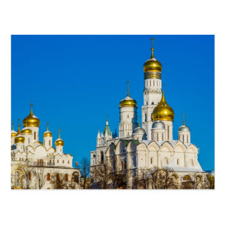 Kathedralen Moskaus der Kreml Postkarte