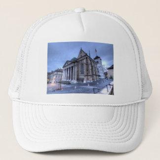 Kathedralen-Saint Pierre, Peter, Genf, die Schweiz Truckerkappe